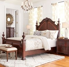 You'll be surrounded by elegance when you retreat into the Cortinella bedroom.
