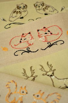 Animal Hand Embroidery Patterns