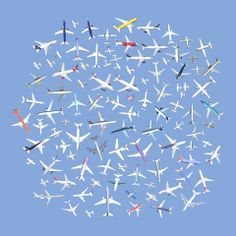 104 Airplanes, by Jenny Odell - 20x200 (from $24)