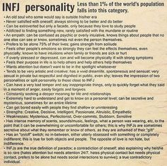 no doubt with a special goal in life for each of us with the infj personality. Listen to my infj! Infj Mbti, Intj And Infj, Enfj, Personality Profile, Infj Personality, Myers Briggs Personality Types, Psychology Facts Personality Types, Myers Briggs Infj, Introvert