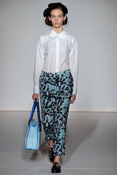Clements Ribeiro Spring Summer RTW 2013 London