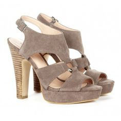 e00a6071572bb Suede platform heels - I can t wait for spring! Peep Toe Heels