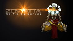 "Overwatch ZENYATTA: ""True self is withoit form"""