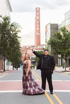 may have cancelled thier prom, but they didn't let tht bring them down! Downtown Winston Salem, Jb Photography, Teen Prom, Couple Shoot, These Girls, How Beautiful, Formal Wear, Get Dressed, Dress Up