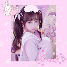 Cute Korean Girl, Cute Asian Girls, Cute Girls, Kawaii Fashion, Lolita Fashion, Cute Fashion, Cute Kawaii Girl, Kawaii Goth, Japonese Girl