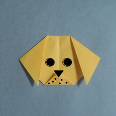 Dog origami » How to Origami Easy origami instruction at Howto-origami.com