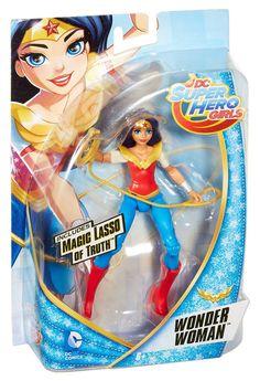 DC SuperHero Girls 6 inch Action Figure Wonder Women: Amazon.co.uk: Toys & Games