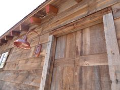 Timberline Framers Inc, Pagosa Springs, Colorado. Close up on barn showing antique barn wood.