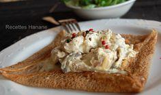 Galette sarrasin au poulet - Recettes by Hanane