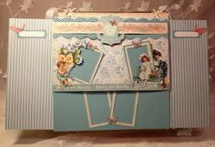 annes papercreations: G45 Sweet Sentiments easel mini album calendar