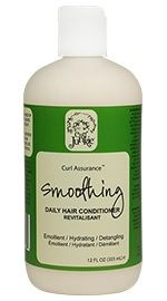Curl Assurance Smoothing Conditioner  Curl Junkie! Curl Assurance Smoothing Daily Hair Conditioner can help you tame frizz and get rid of fly-aways so your curls can look their best. Encourage your ringlets to shine every day! This product has the same scent as our Smoothing Gellie, a delightful Mango Coconut Papaya scent and can be used on all hair types especially hair with a tendency to frizz!