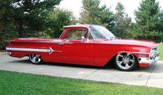 Nice '60 El Camino with Impala rear quarter trim.