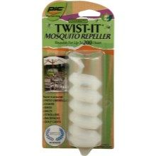Twist-It Mosquito Repeller - PTPA under $4 and smells great, too