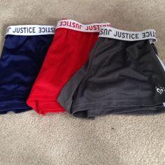 Athletic Shorts 3 pairs of athletic shorts Shorts