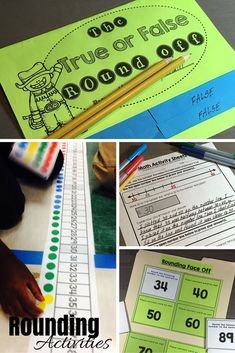 Do your student's need additional help with rounding numbers? It can be a challenging skill. Help them better understand rounding, to the nearest 10 and 100, using interactive number lines, hands-on rounding activities, games and independent worksheets.