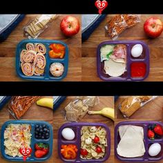 <br> School Lunch Prep, School Snacks For Kids, Healthy School Lunches, Make Ahead Lunches, Prepped Lunches, Non Sandwich Lunches, Lunch Box Recipes, Healthy Dinner Recipes, Health Recipes