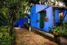 Frida Kahlo's house in Mexico City