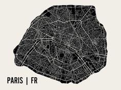 París Lámina por Mr City Printing en AllPosters.com.ar.