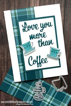 Seasonally Scattered, Chocolate Card, Coffee Cards, Step Cards, Supply List, Masculine Cards, Love Cards, Paper Cards, Greeting Cards Handmade