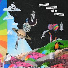 el diseño de la última tapa del disco de Coldplay de la mano de la argentina Pilar Zeta.