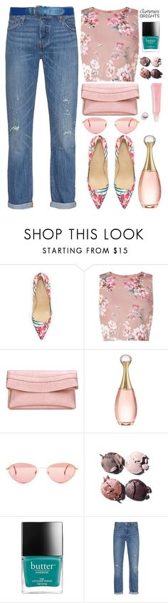 """Summer Brights"" by grozdana-v ❤ liked on Polyvore featuring Ivanka Trump, Miss Selfridge, Christian Dior, Chanel, Levi's and summerbrights"