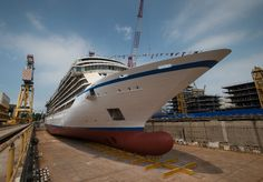Viking Ocean Cruises celebrates float out of first ship
