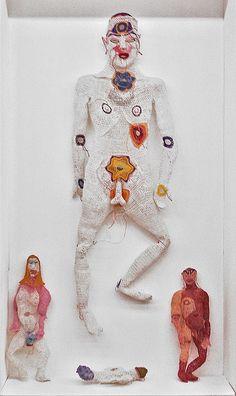 Fiber-art by Johanna Schweizer at 6. Berliner Kunstsalon by Kunstraum Richard Sorge, via Flickr