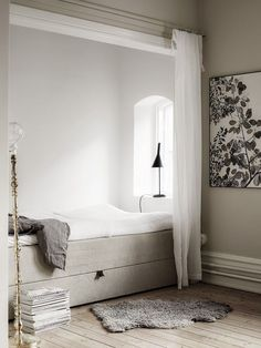 Viyet Style Inspiration | The perfect, calming bedroom nook  | black & white decor