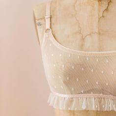 Madalynne X Simplicity 8711 Underwire Bralette DIY Sewing Kit: Swiss Dot - Sewing Lingerie, Pretty Lingerie, Diy Bralette, Bra Pattern, Pattern Sewing, Sewing Kit, Vintage Bra, Pinterest Design, Bra Hacks