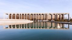 architecture - Oscar Niemeyer's Favorite Project in Europe Captured in Spectacular Photo Set by Karina Castro Classical Architecture, Sustainable Architecture, Amazing Architecture, Contemporary Architecture, Architecture Details, Architecture Lyon, Chinese Architecture, Futuristic Architecture, Landscape Architecture