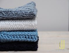 Spültücher stricken - #designhoch12 im April