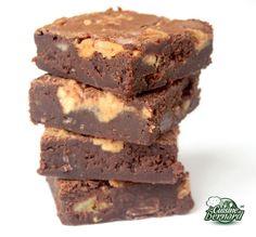 La Cuisine de Bernard : Brownies Chocolat Bananes et Beurre de Cacahuètes