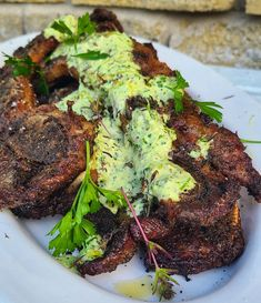 Rib Recipes, Greek Recipes, Grilled Beef Short Ribs, Ribs On Grill, Chimichurri, A Food, Food Processor Recipes, Grilling, Recipes