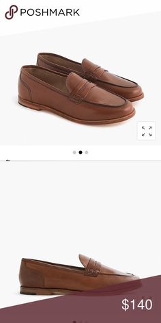 dc8c17c0227 JCrew Ryan penny loafer in leather. Size 7 Brand new! JCrew Ryan penny  loafer