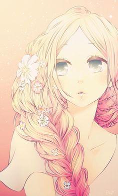 cute girl discovered by ◞♡ 𝙺 𝚊 𝚖 𝚒 on We Heart It Blonde Anime Girl, Anime Art Girl, Manga Girl, Anime Guys, Manga Anime, Sakura Haruno, Naruto Sasuke Sakura, Kakashi, Hibi Chouchou