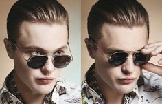 I'm SO in love with Prada's spring/summer line! Oh yeah.. and with Micheal Pitt!!