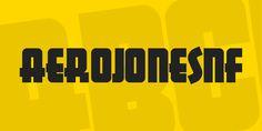 AerojonesNF Font · 1001 Fonts