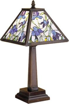 Mosaic Iris Accent Lamp