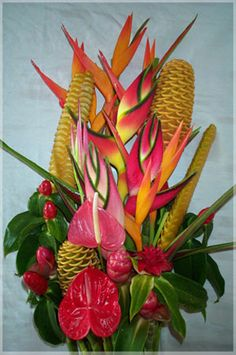 pearlie sweet throwing party honor nostrovia dear party friend bouquet of hawaiian flowers