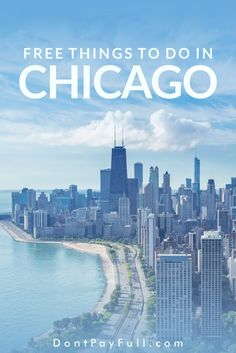 Explore the magnificent Windy City without spending any money! Check out our list of 20 fun and completely free things to do in Chicago! Cheap Things To Do, Free Things To Do, Stuff To Do, John Hancock, Willis Tower, Chicago Travel, Chicago Art, Chicago Vacation, Chicago Girls