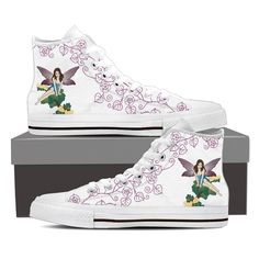 Gorgeous Fairy High Top Shoes