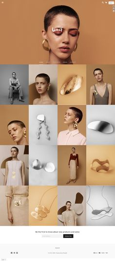 > loving the intersection of one figure and minimal jewellery photography > grid layout kept clean and sharp Site Web Design, Layout Design, Design Design, Design Color, Jewelry Photography, Love Photography, Fashion Photography, Design Thinking, Lookbook Layout