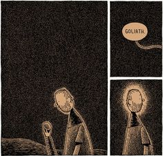 Tom Gauld's Goliath, the giant's story
