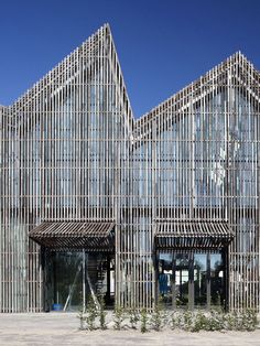 Kaap Skil, Maritime and Beachcombers Museum, by Netherlands based Mecanoo Architecten.
