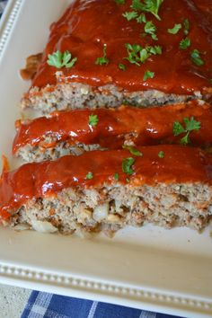 Brown Sugar Glazed Meatloaf! I've been making this recipe for over 20 years and it's still my favorite!