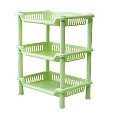 Kitchen Storage Carts Tier Plastic Corner Shelf Storage Shower Bathroom Kitchen Organizer Rack organizer rack kitchen organizer rack cabinet Green *** Read more reviews of the product by visiting the link on the image.
