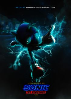 Sonic Poster - Melissa Dono by melissa-dono on DeviantArt Sonic The Hedgehog, Hedgehog Movie, Hedgehog Art, Sonic The Movie, Epic Fortnite, Speed Of Sound, All Movies, Tmnt, Game Art