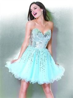pure joy in turquoise dress future-USA-woman-AMS