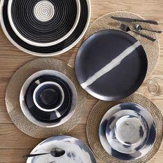 Set de table en jute, djutt by v. barkowski Am. Home Furnishing Accessories, Kitchen Accessories, Dinner Plate Sets, Dinner Plates, Wabi Sabi, Soup Bowl Set, Home Decor Shops, Teller, Wow Products