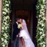 Alessia Marcuzzi matrimonio a sorpresa con Paolo Calabresi annunciato sul blog La Pinella